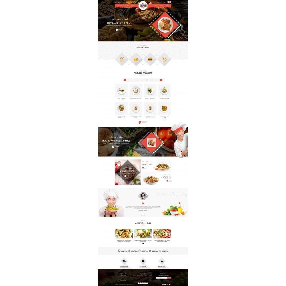 theme - Cibo & Ristorazione - Takeaway - Online Restaurant - 2