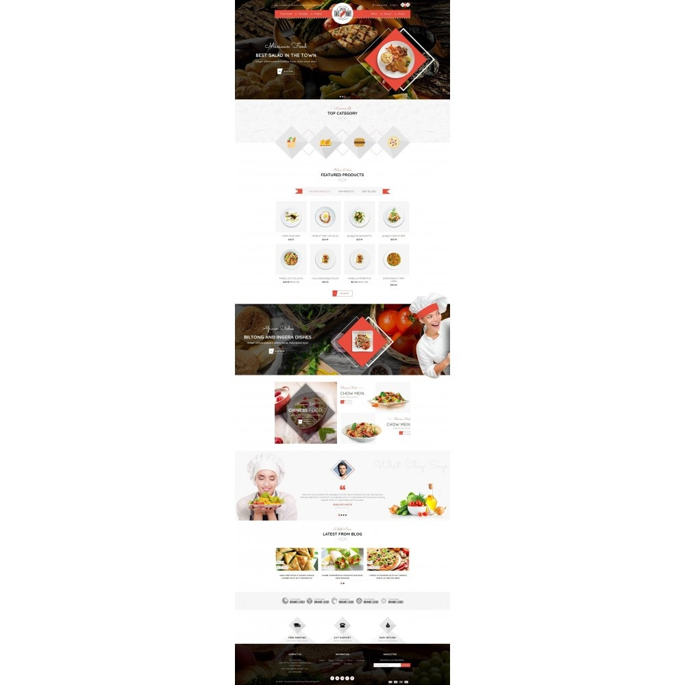 theme - Alimentos & Restaurantes - Takeaway - Online Restaurant - 2