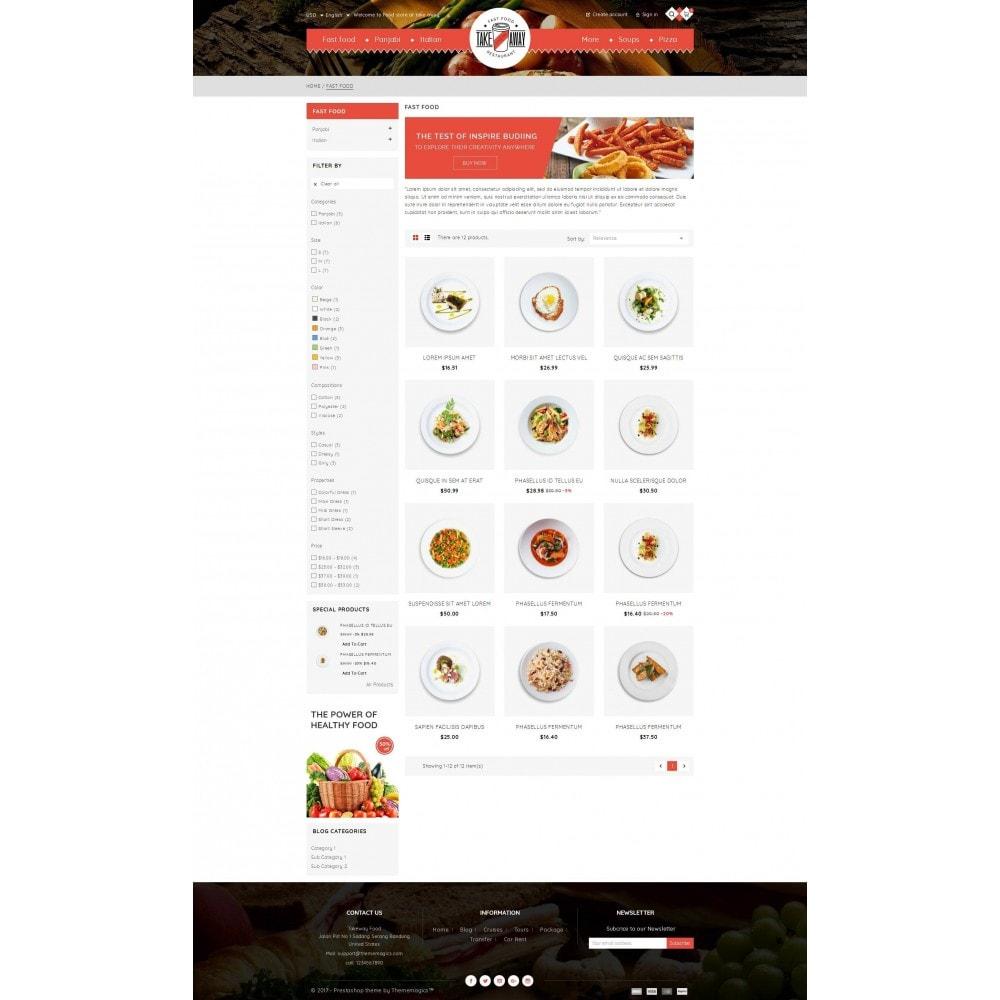 theme - Alimentos & Restaurantes - Takeaway - Online Restaurant - 3