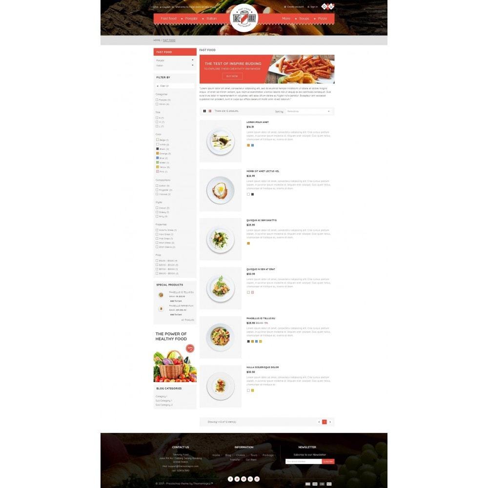 theme - Alimentos & Restaurantes - Takeaway - Online Restaurant - 4
