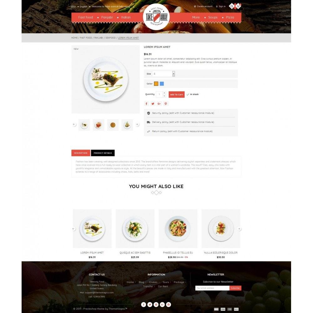 theme - Alimentos & Restaurantes - Takeaway - Online Restaurant - 5