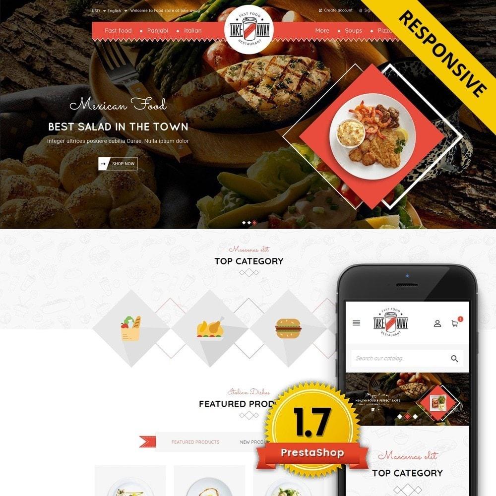 theme - Alimentos & Restaurantes - Takeaway - Online Restaurant - 1
