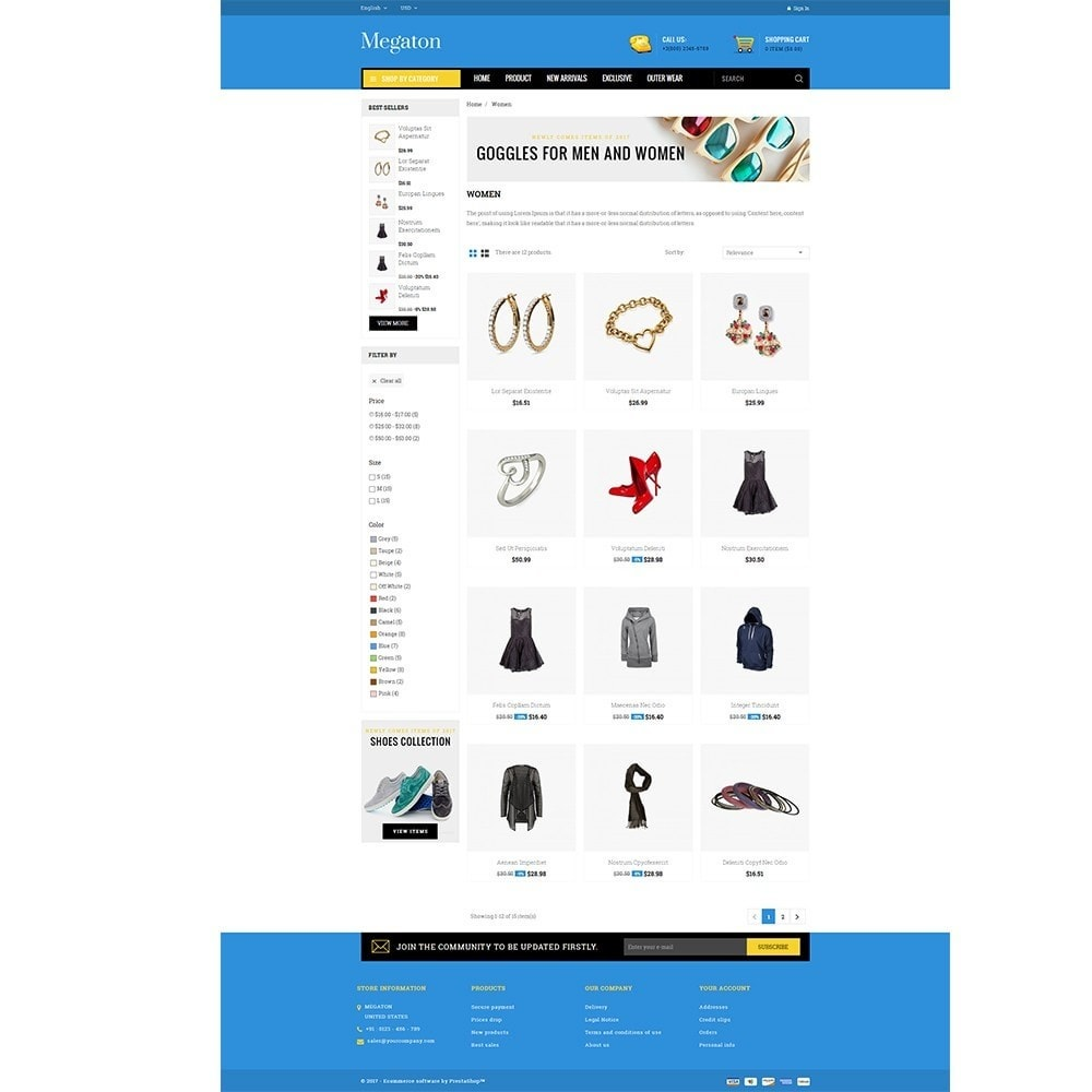 theme - Electronique & High Tech - Megaton Store - 3