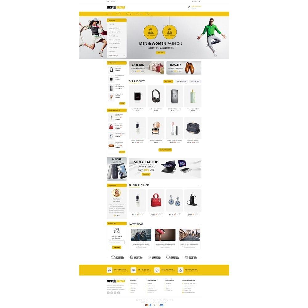 theme - Авто и Мото - ShopBazar Mega Store V4 - 2