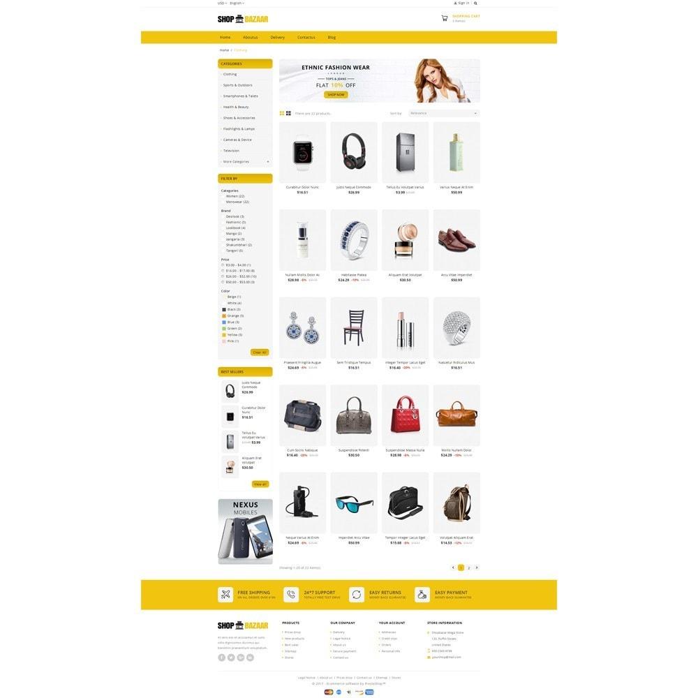 theme - Авто и Мото - ShopBazar Mega Store V4 - 3