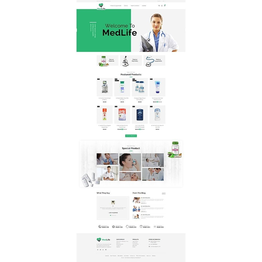 theme - Salute & Bellezza - MedLife Medical Store - 2