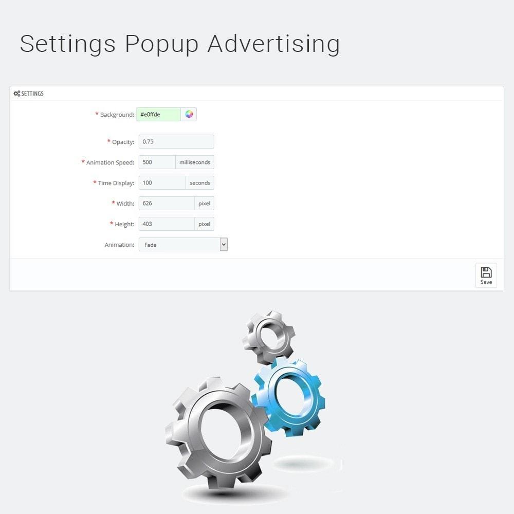 module - Pop-up - Popup Advertising - 6