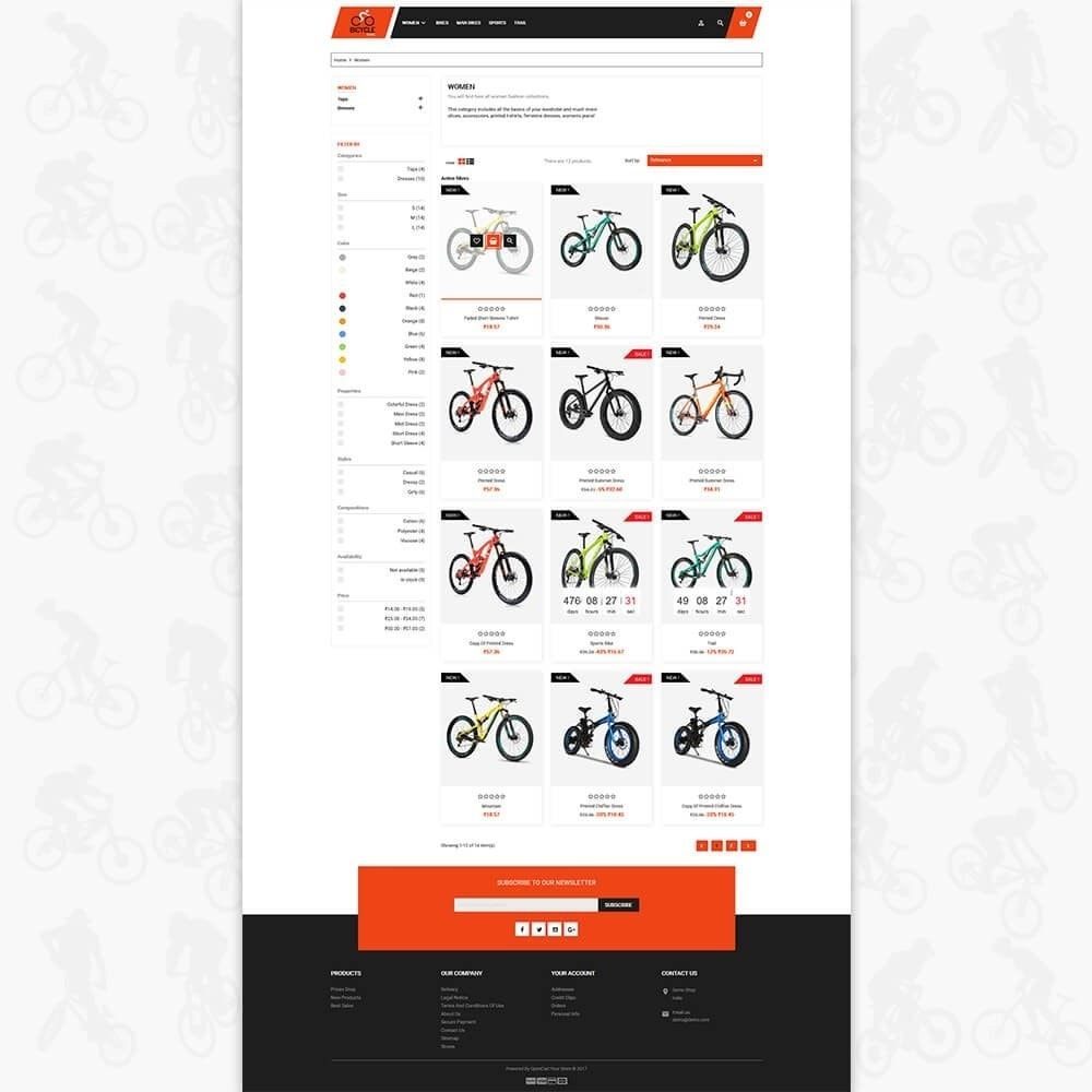 theme - Sport, Loisirs & Voyage - Bicycle Sports Store - 3