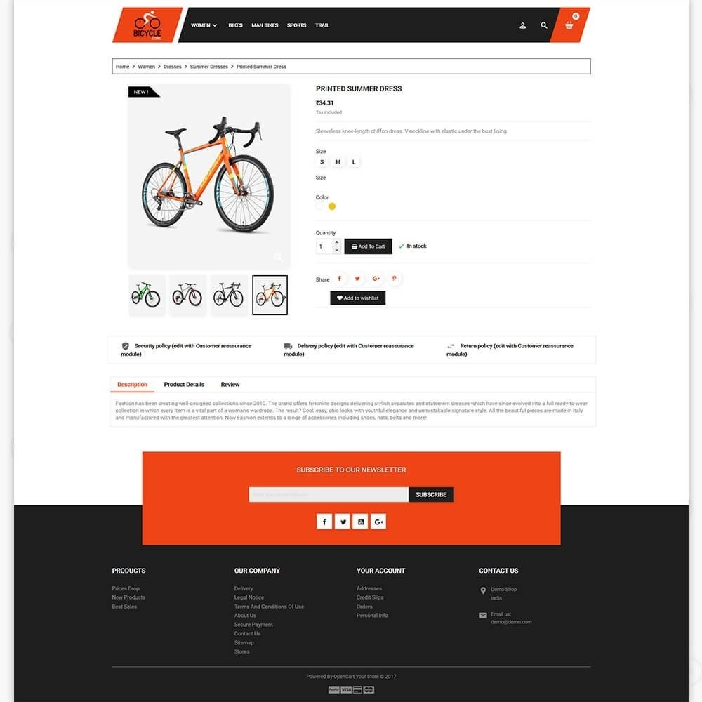 theme - Sport, Loisirs & Voyage - Bicycle Sports Store - 5