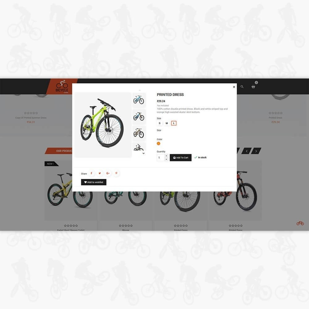 theme - Sport, Loisirs & Voyage - Bicycle Sports Store - 7