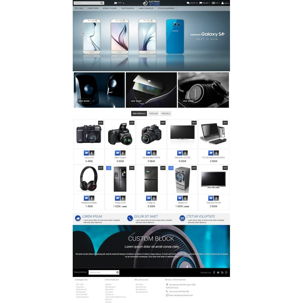 theme - Elettronica & High Tech - Electronic Store - 2