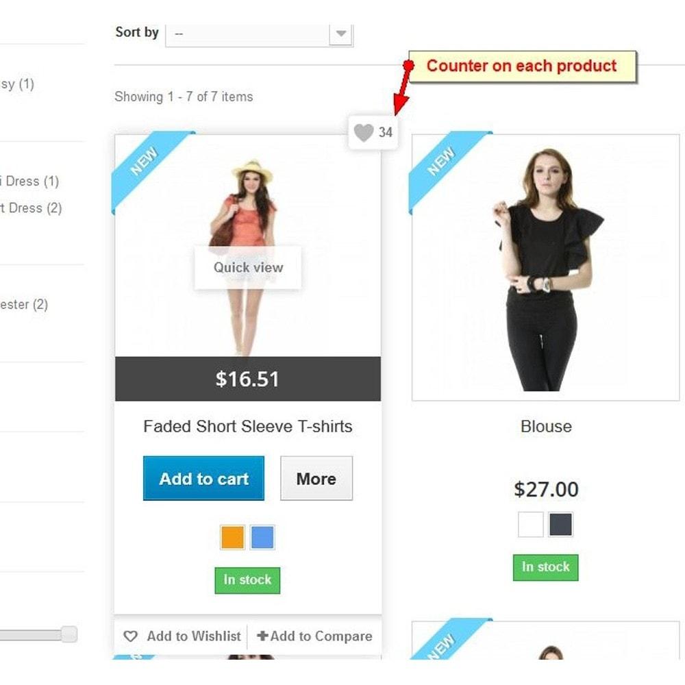 module - Kundenbewertungen - Produkt gefällt, Kundenbewertungen - 2