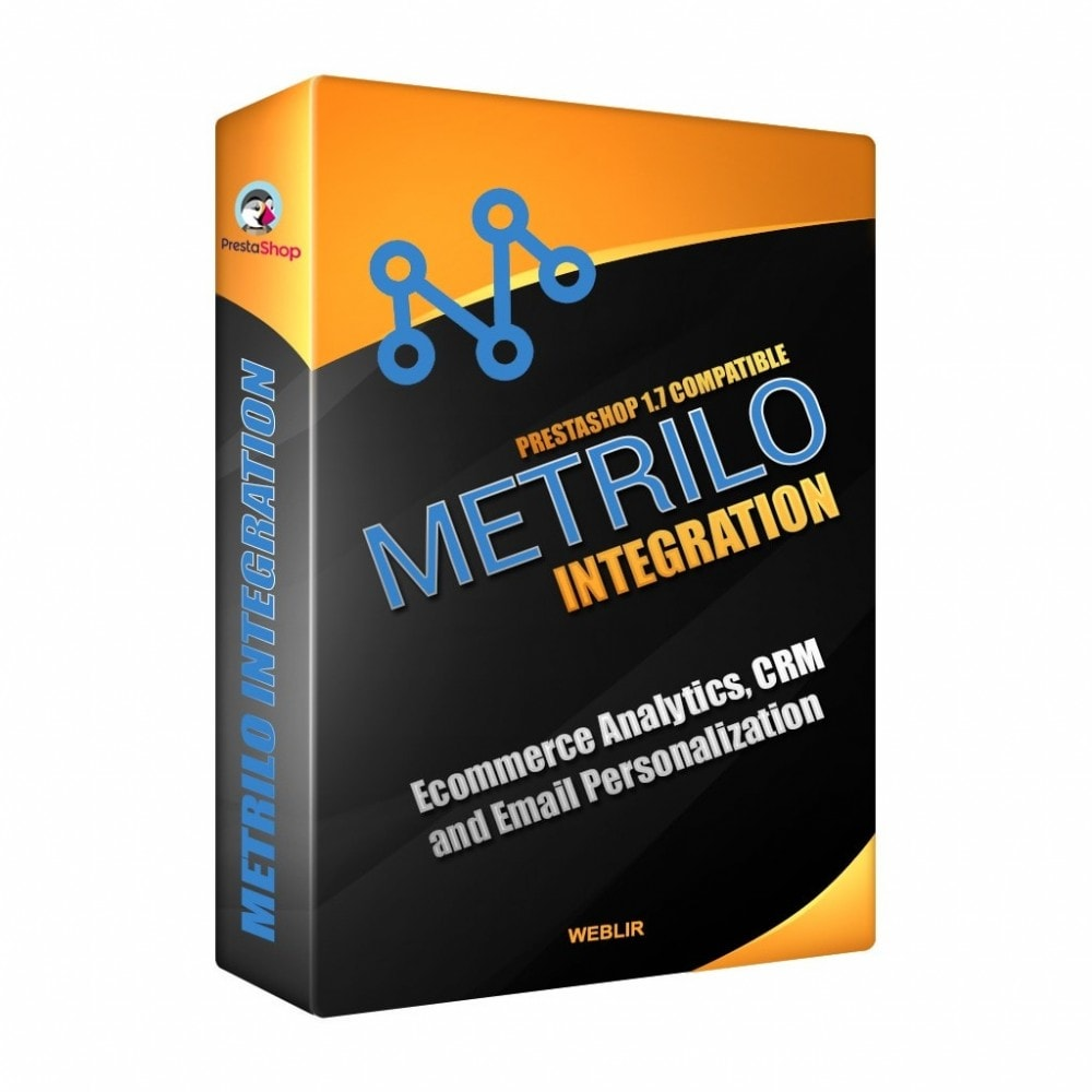 module - E-mails & Notifications - Metrilo Integration - 1
