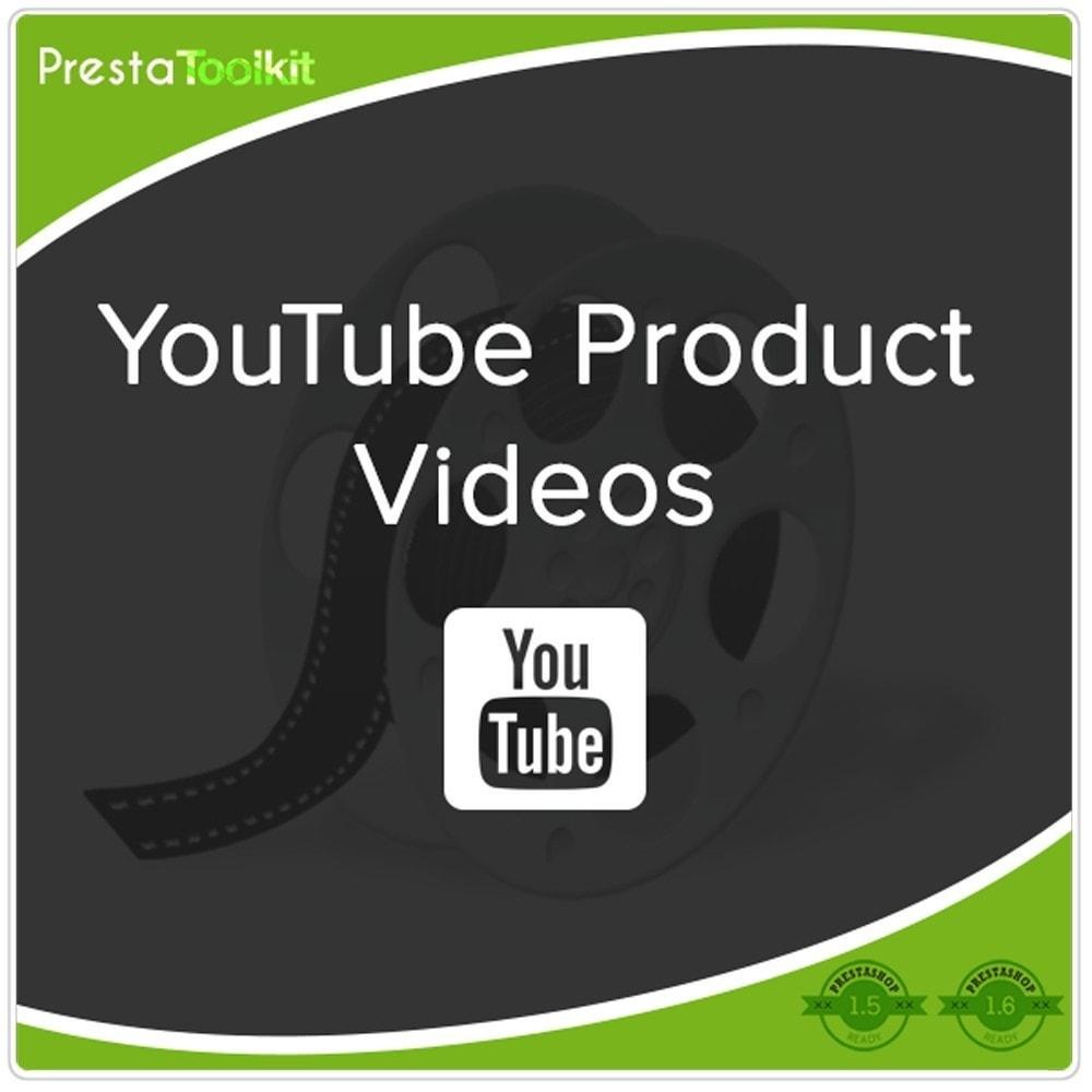 module - Vídeos y Música - Videos de productos de Youtube - 1
