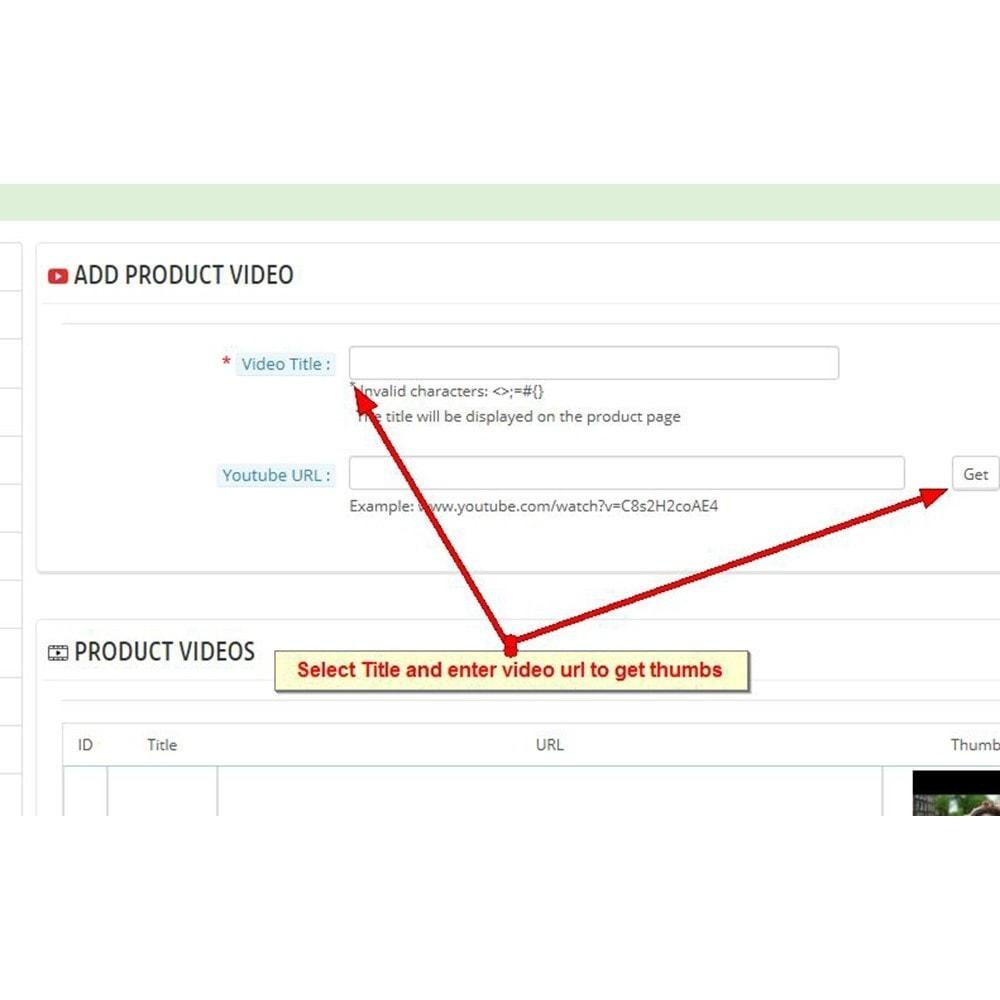 module - Vídeos y Música - Videos de productos de Youtube - 8