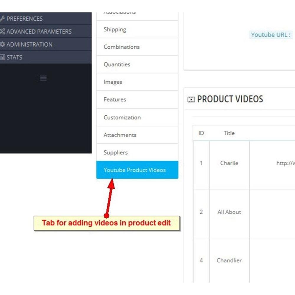 module - Vídeos y Música - Videos de productos de Youtube - 9