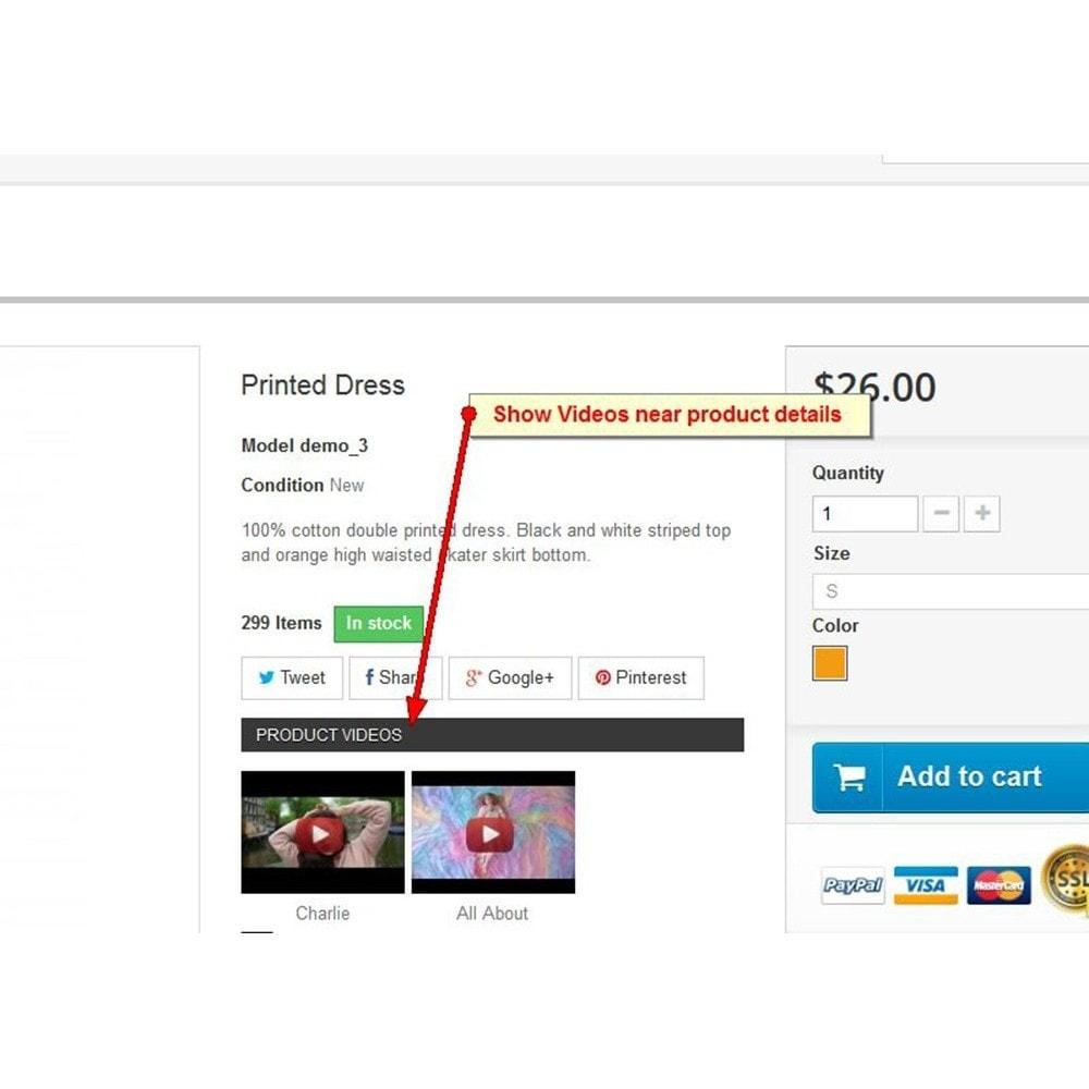 module - Videos & Musik - Youtube Produktvideos - 2