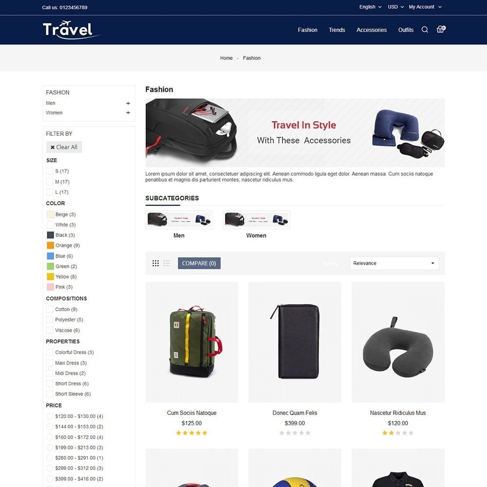 theme - Sports, Activities & Travel - Travel Store - 3