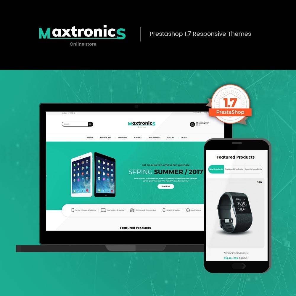 theme - Electronics & Computers - Maxtronics - Electronics Store - 1