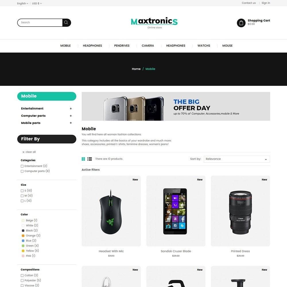 theme - Electronics & Computers - Maxtronics - Electronics Store - 3