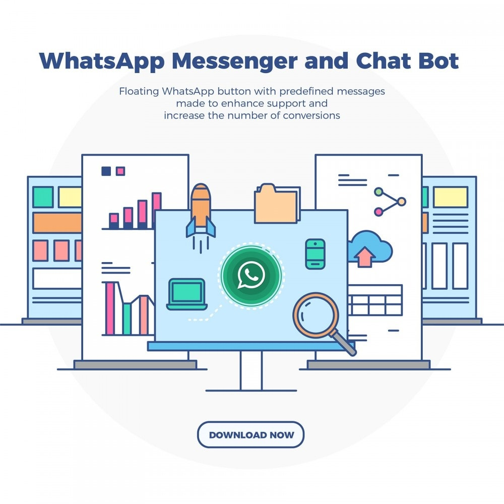 module - Support & Chat Online - WhatsApp Messenger and Chat Bot - 2