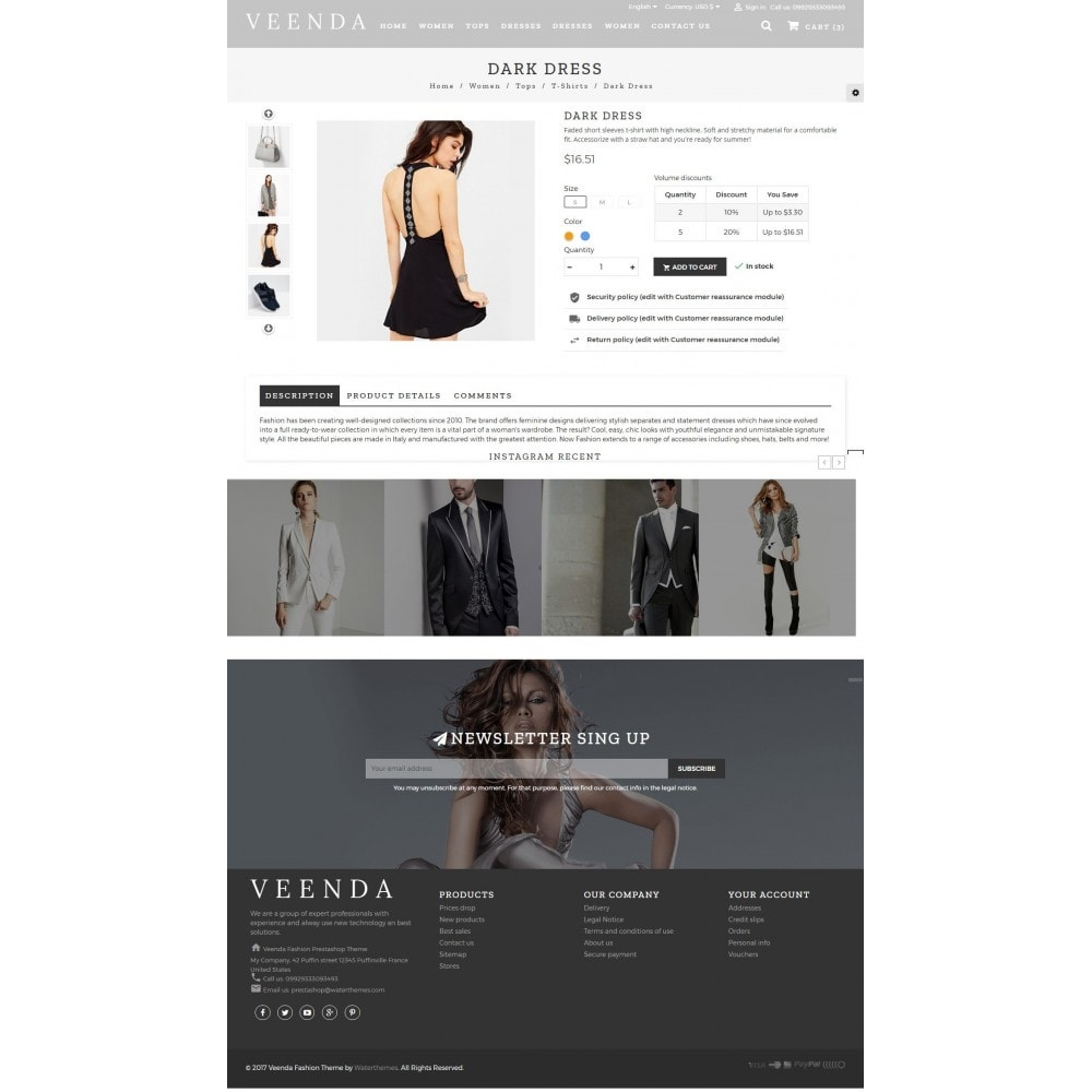 theme - Mode & Chaussures - Veenda Fashion Shop - 5