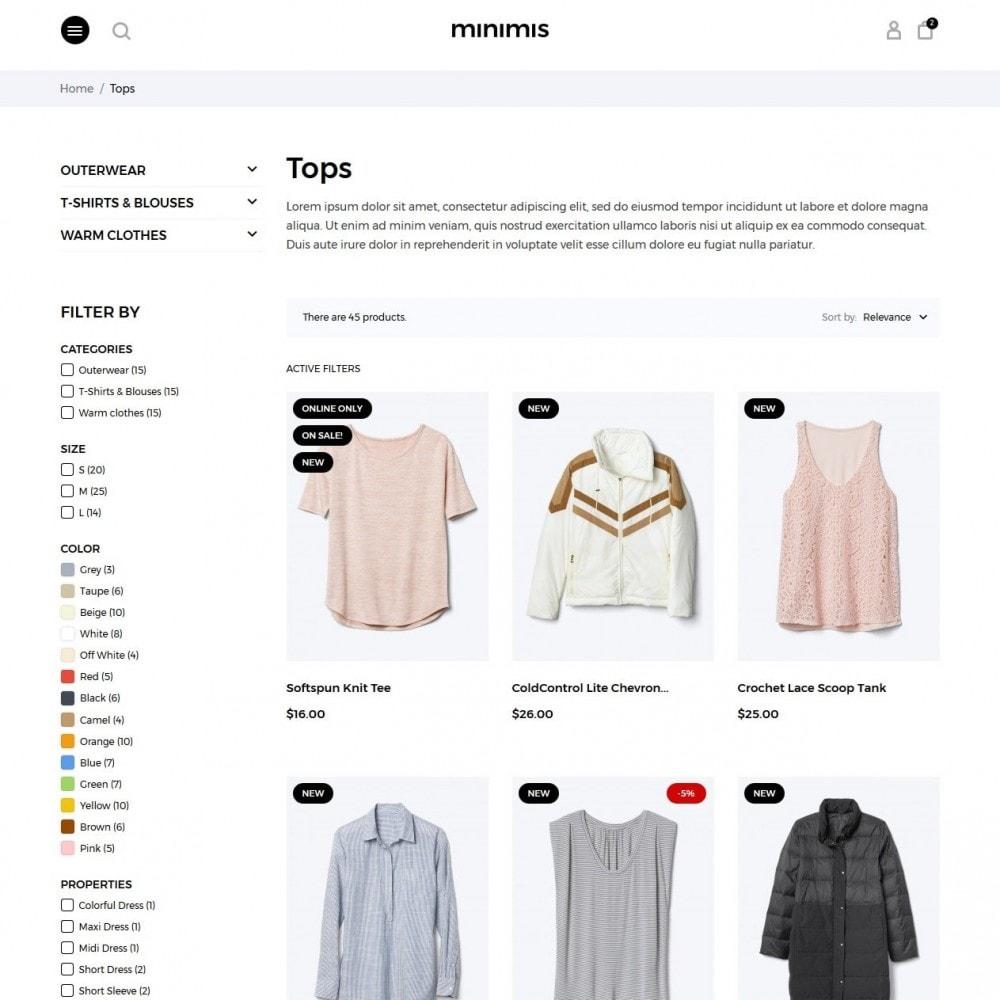 theme - Mode & Chaussures - Minimis Fashion Store - 5