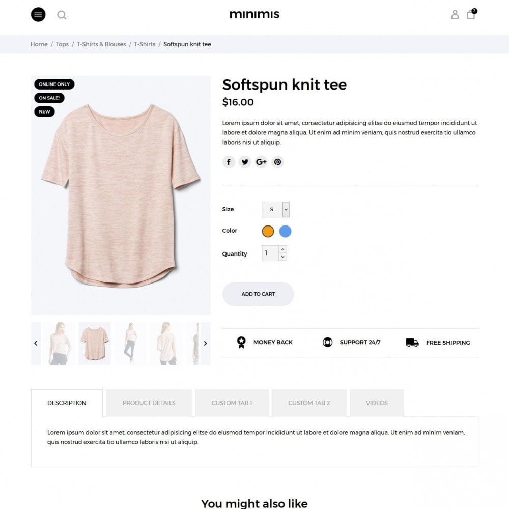 theme - Moda & Calzature - Minimis Fashion Store - 6