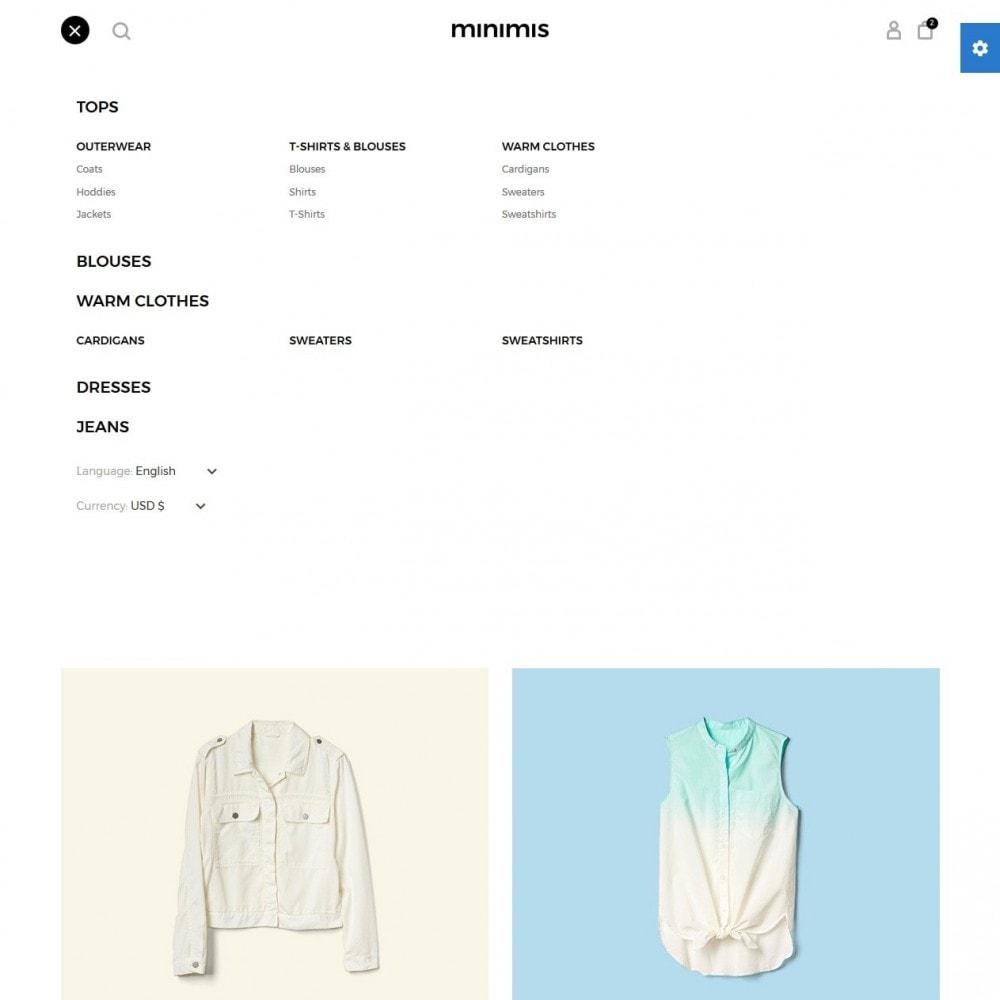 theme - Moda & Calzature - Minimis Fashion Store - 10