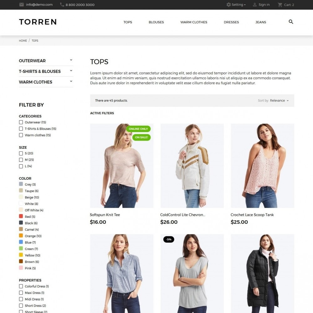 theme - Mode & Schoenen - Torren Fashion Store - 5