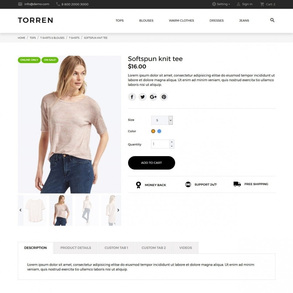 theme - Mode & Schoenen - Torren Fashion Store - 6