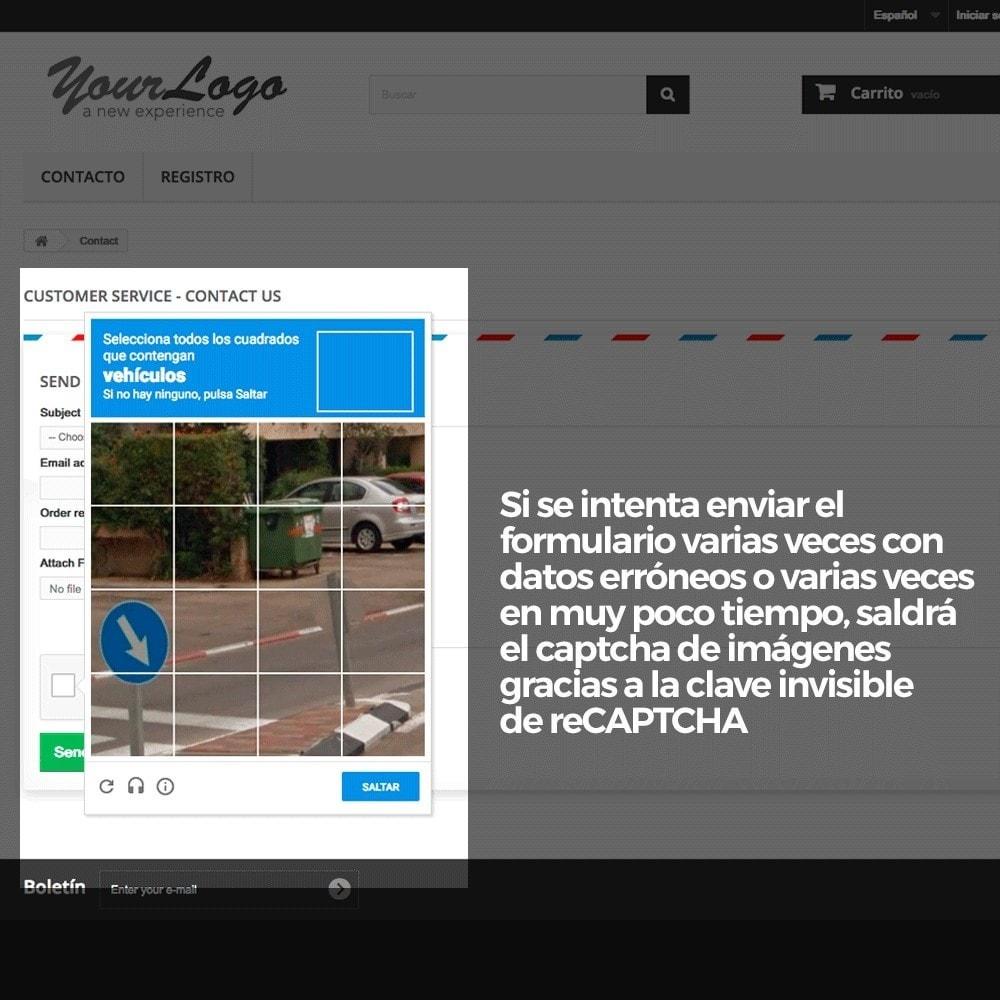 module - Seguridad y Accesos - Añadir Google reCAPTCHA a los formularios de la tienda - 15