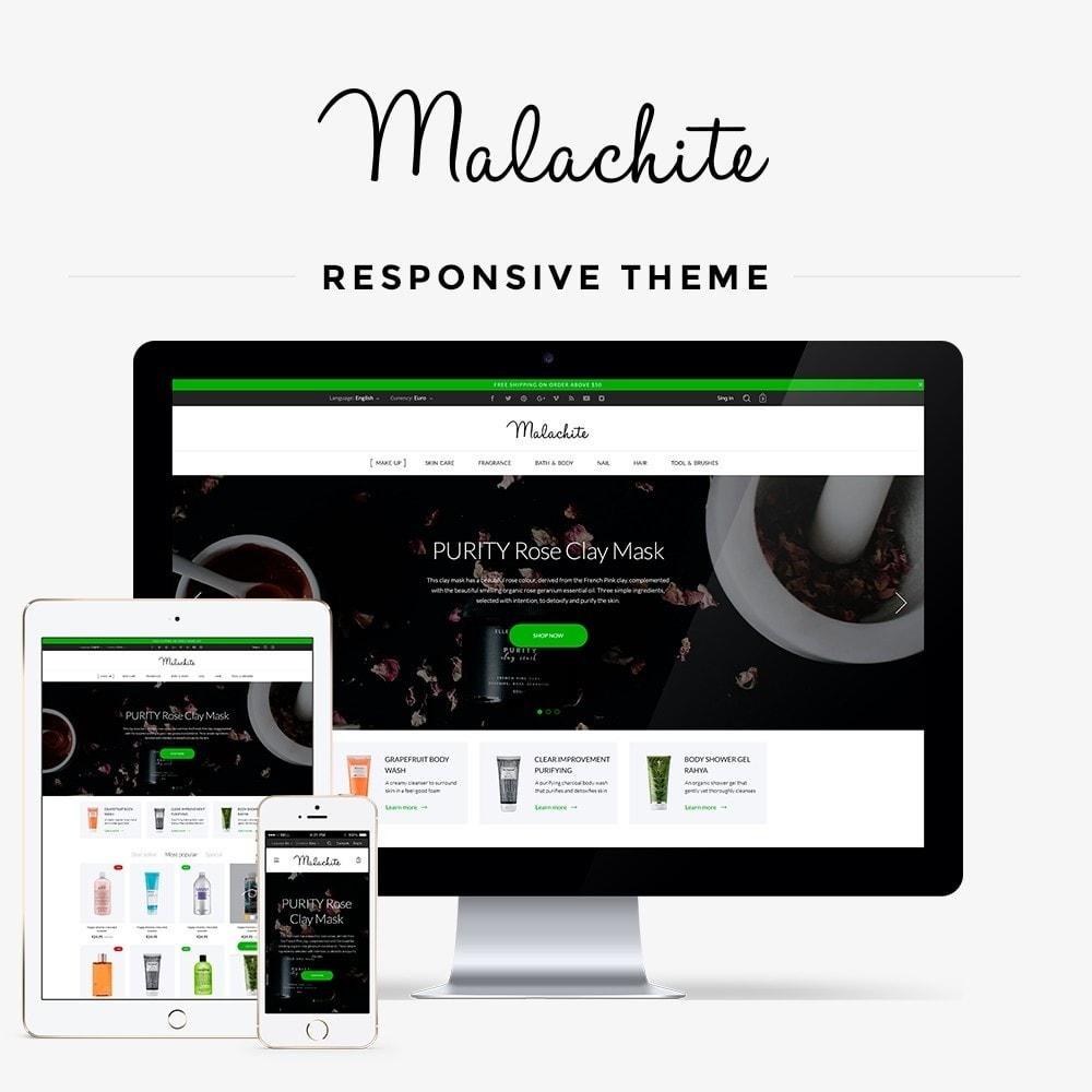theme - Salute & Bellezza - Malachite Cosmetics - 1