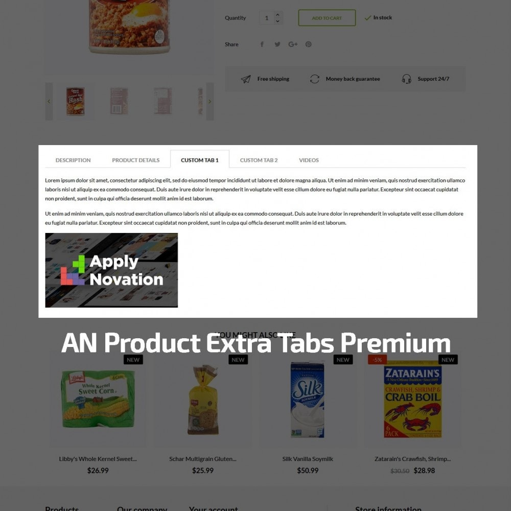 theme - Alimentos & Restaurantes - Oak  Food Shop - 8