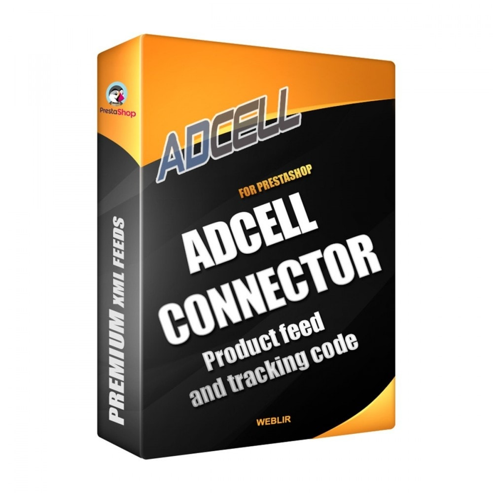 module - Integracja z programami stron trzecich (CRM, ERP...) - Adcell Connector - Product feed and tracking code - 1