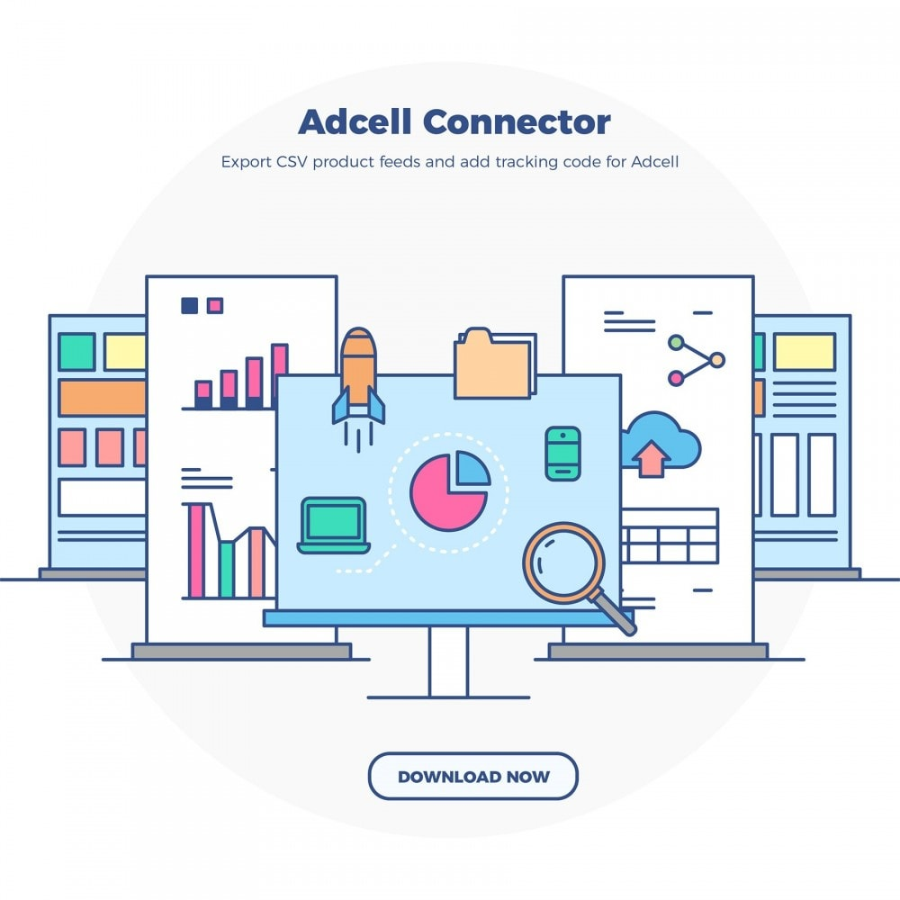 module - Connexion à un logiciel tiers (CRM, ERP...) - Adcell Connector - Product feed and tracking code - 7