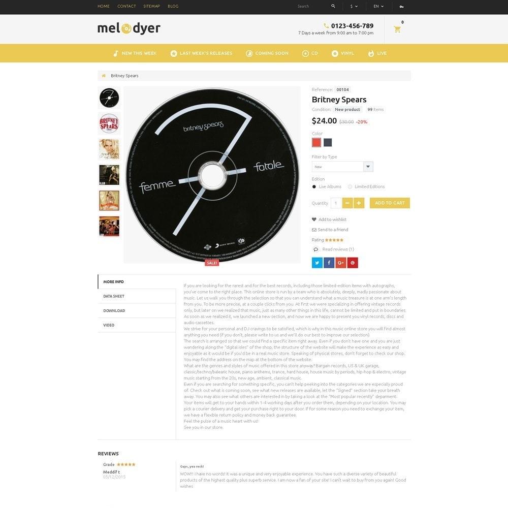 theme - Electrónica e High Tech - Melodyer - Sitio de Tienda de Audio - 4