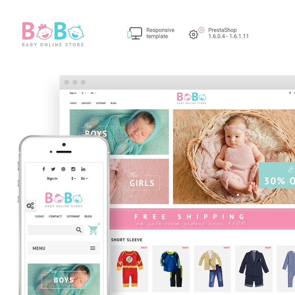theme - Zabawki & Artykuły dziecięce - BoBo - Baby Online Store - 1