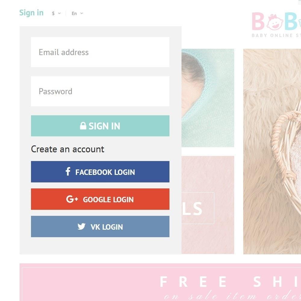theme - Zabawki & Artykuły dziecięce - BoBo - Baby Online Store - 3
