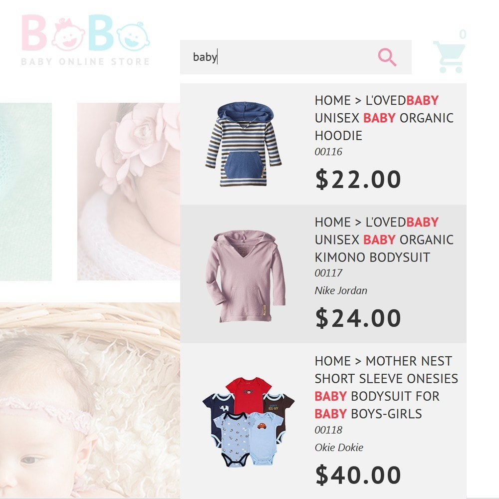 theme - Crianças & Brinquedos - BoBo - Baby Online Store - 4