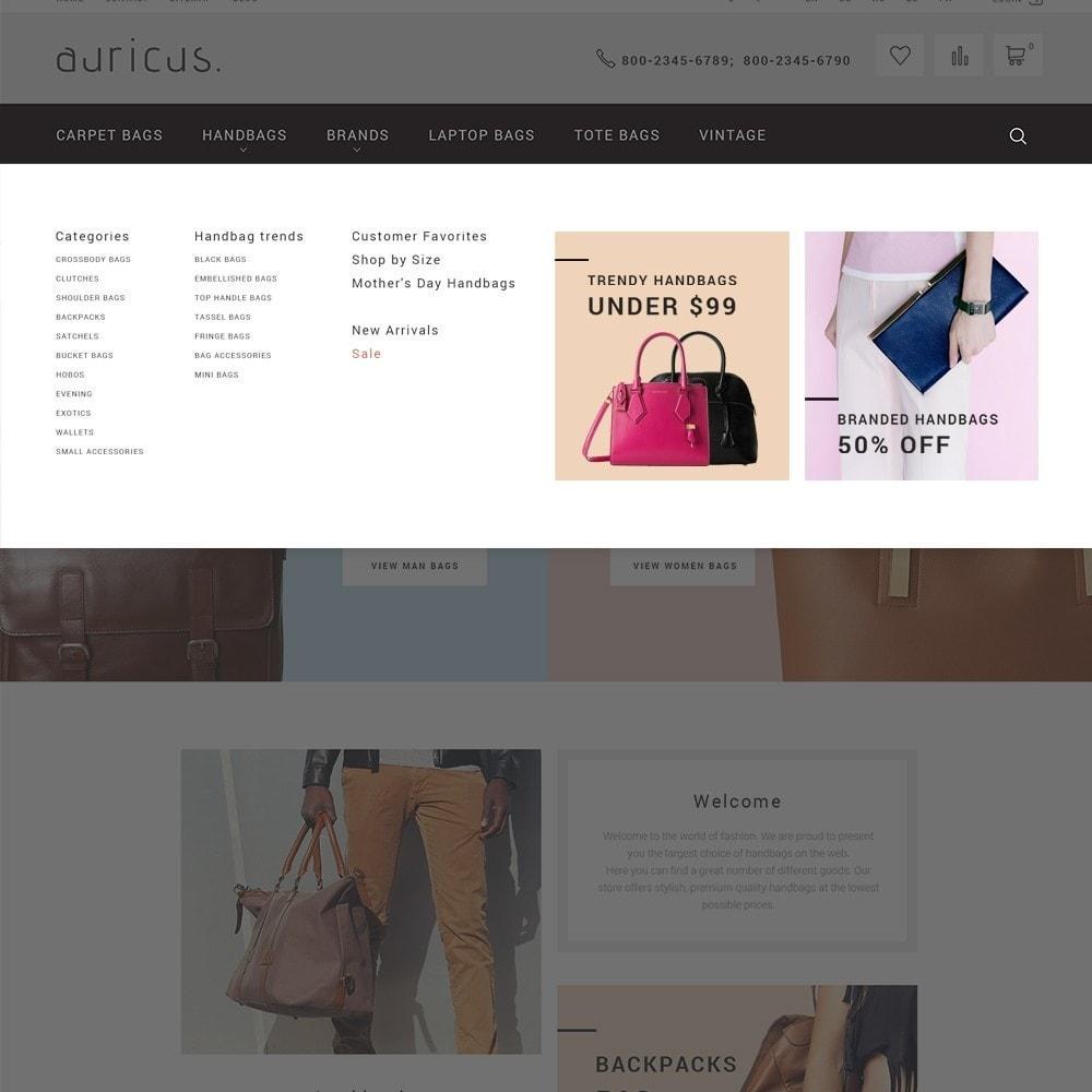 theme - Мода и обувь - Auricus - Handbag Store - 4
