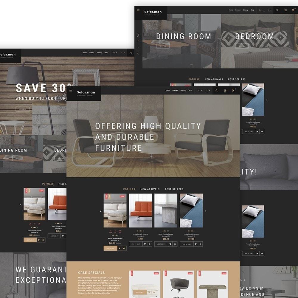 theme - Дом и сад - Sofarman - Адаптивный PrestaShop шаблон магазина мебели - 2