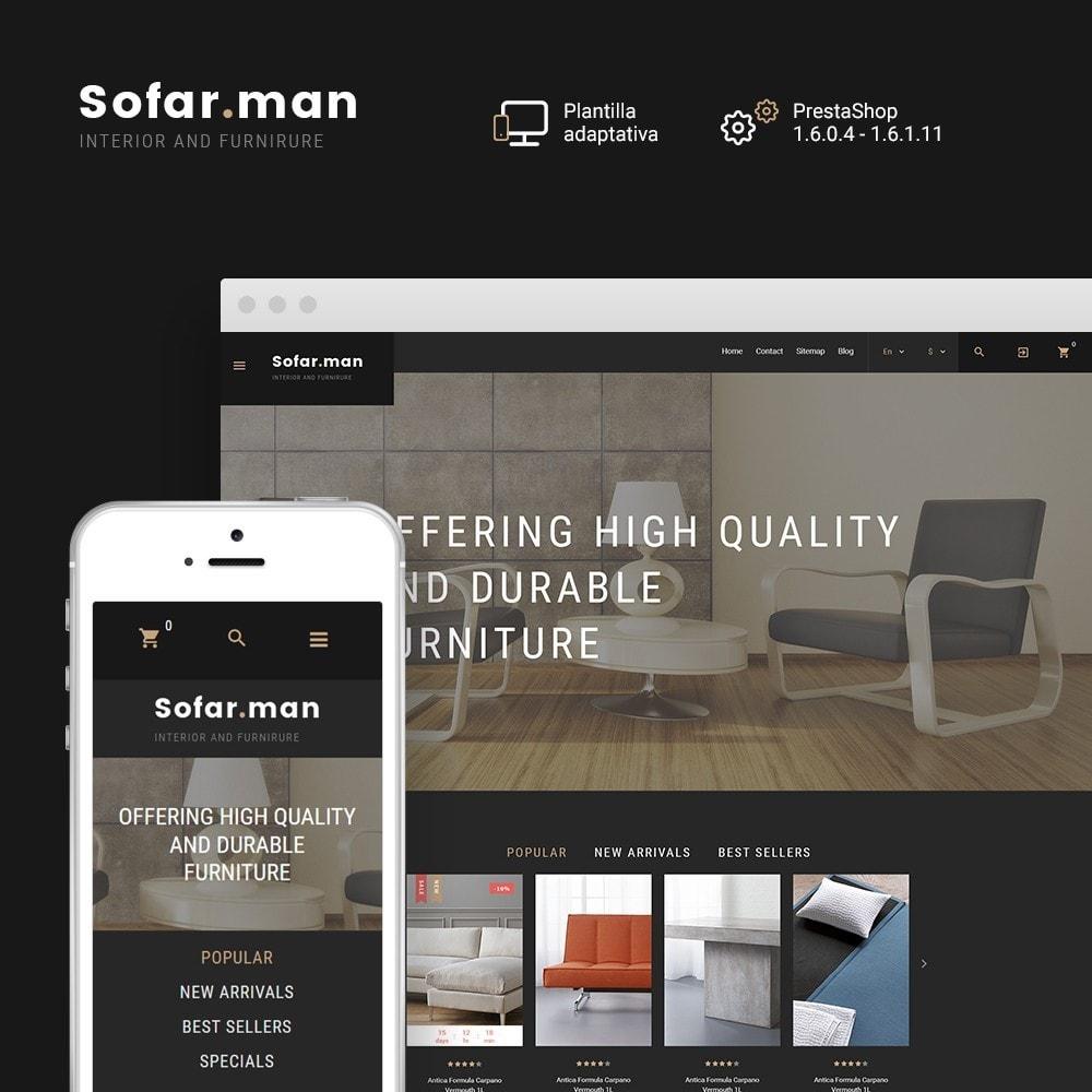 theme - Hogar y Jardín - Sofarman - Tema de PrestaShop para Sitio de Muebles - 1