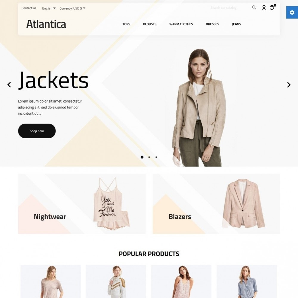 theme - Fashion & Shoes - Atlantica Fashion Store - 2