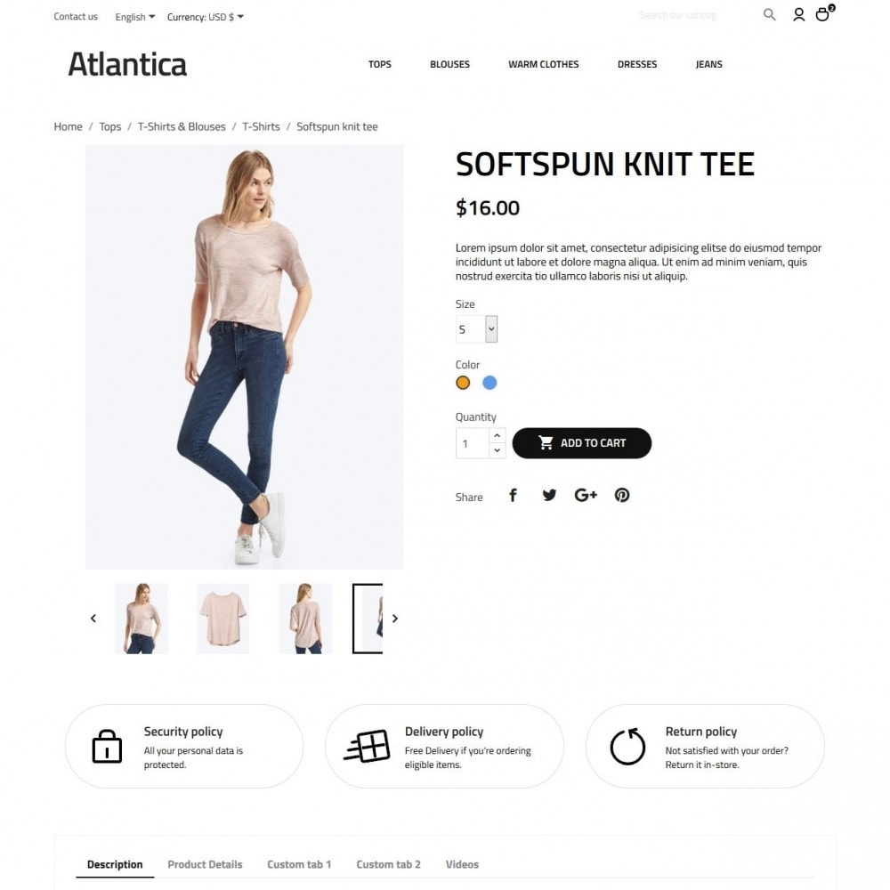 theme - Fashion & Shoes - Atlantica Fashion Store - 6
