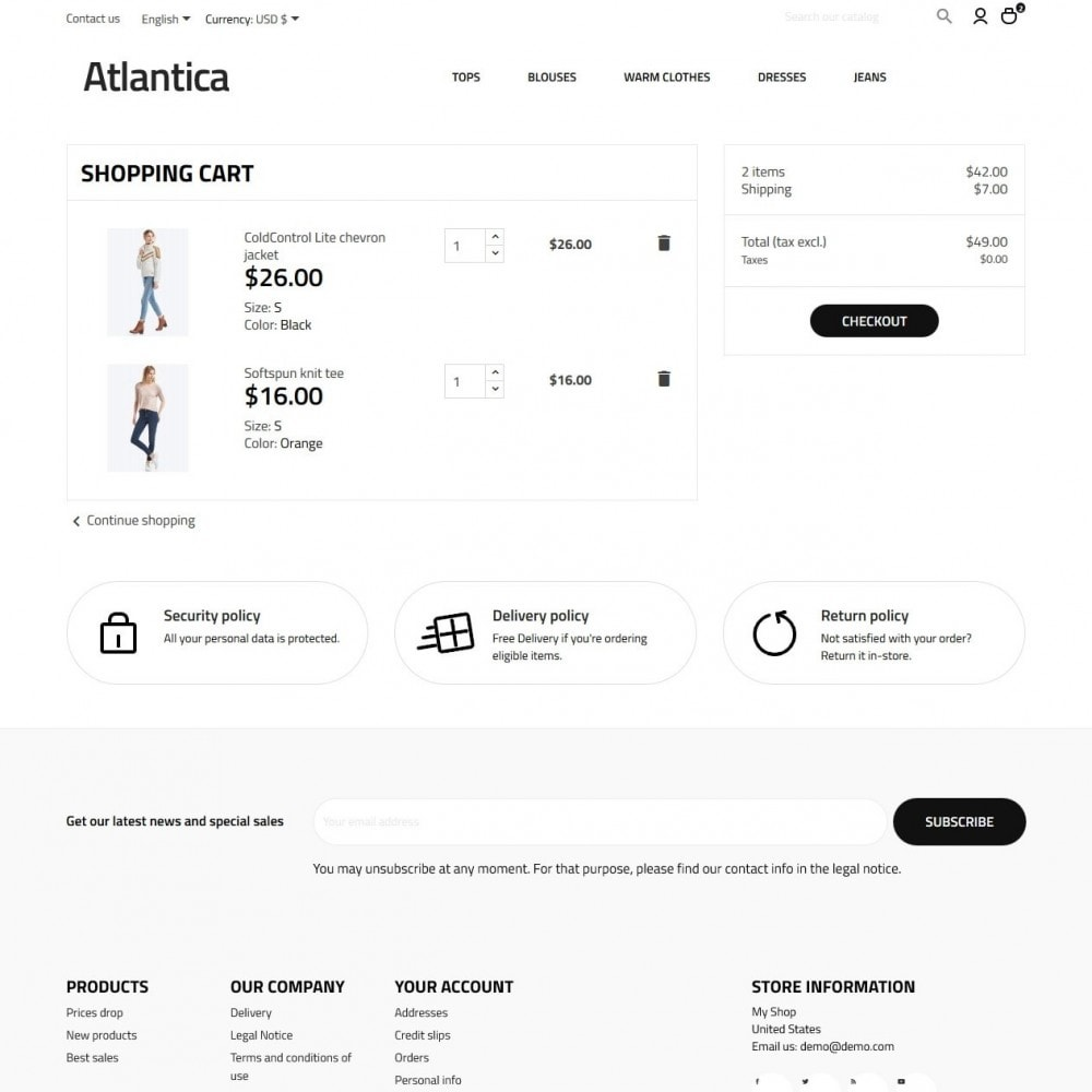theme - Fashion & Shoes - Atlantica Fashion Store - 7