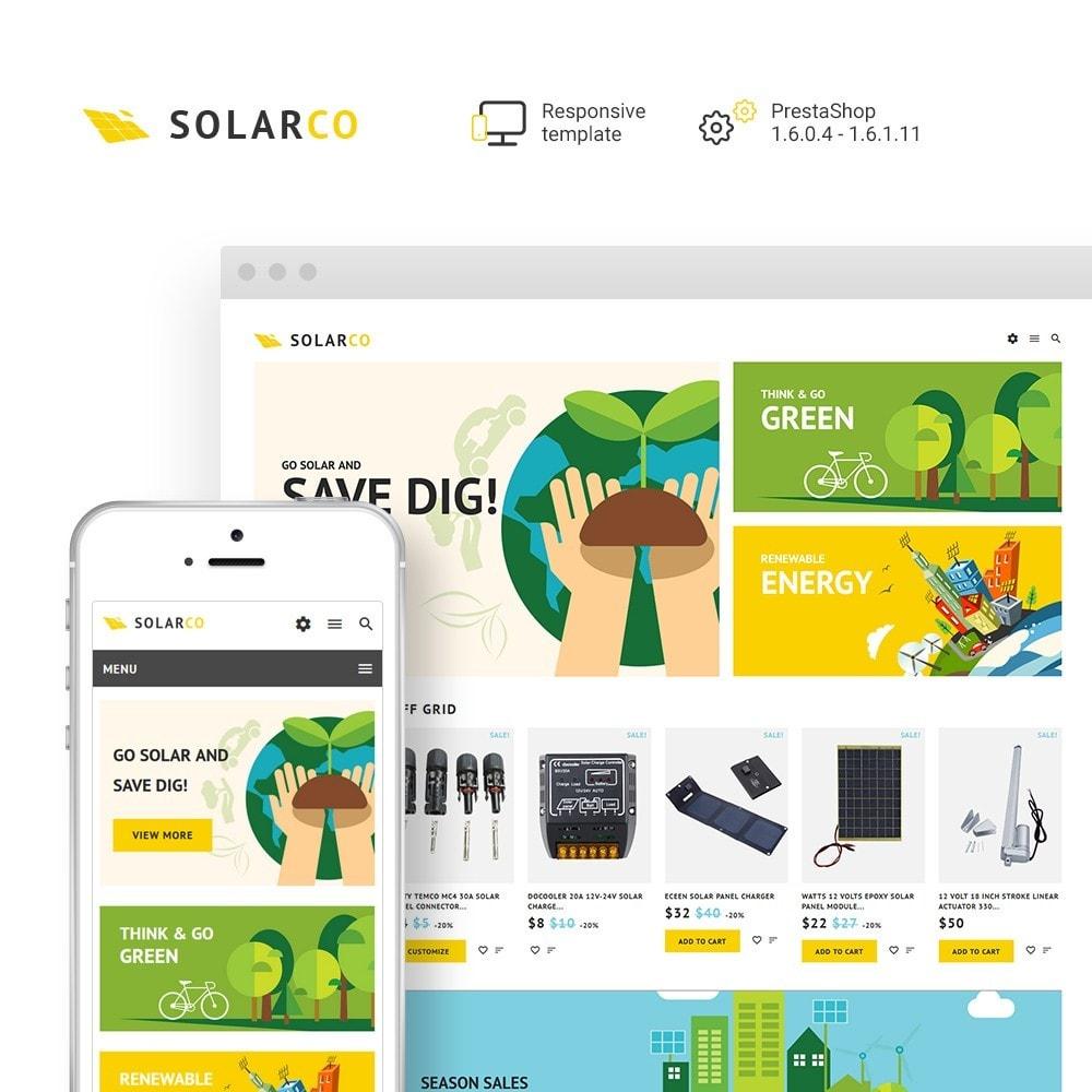 theme - Maison & Jardin - SolarCo - Batteries Solaires et Accessoires - 1