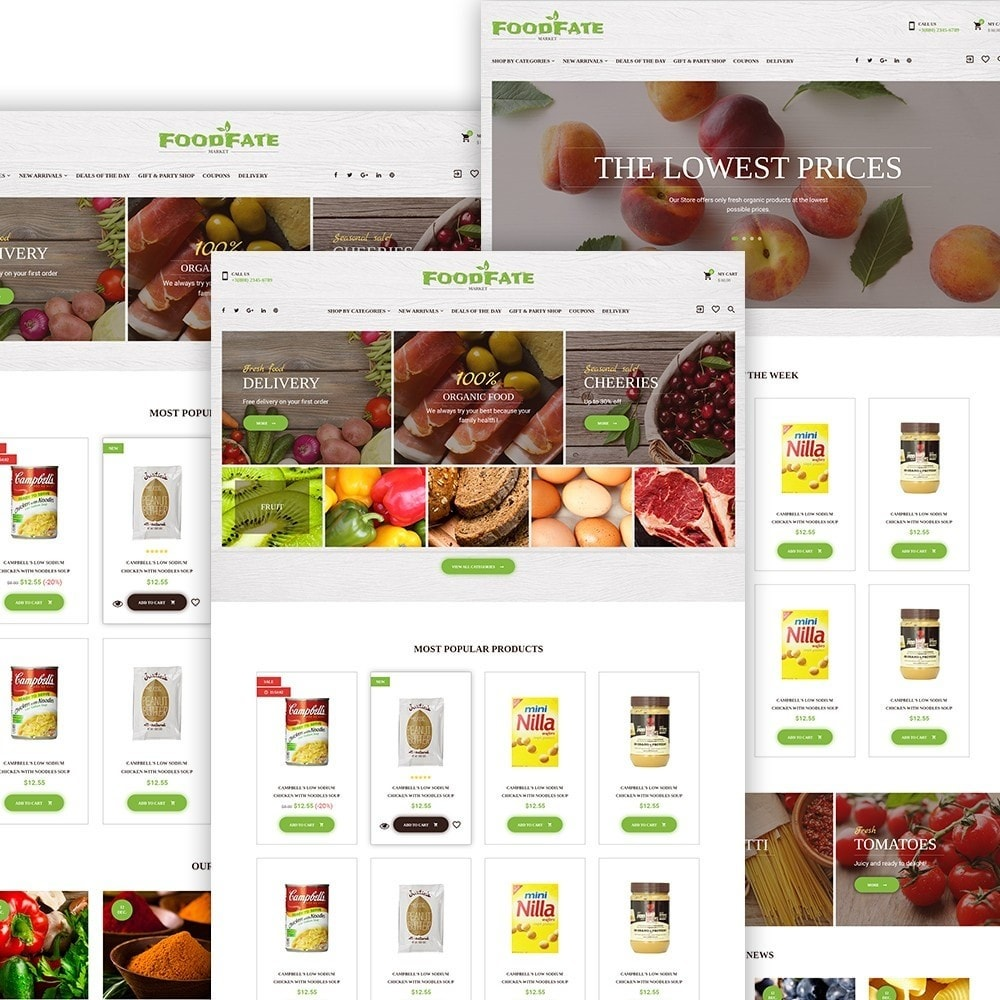 theme - Eten & Restaurant - FoodFate - Food Store - 2
