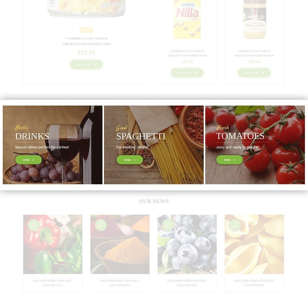 theme - Eten & Restaurant - FoodFate - Food Store - 3