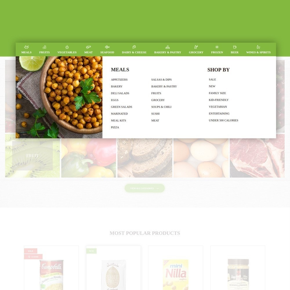 theme - Продовольствие и рестораны - FoodFate - шаблон магазина по продаже еды - 5